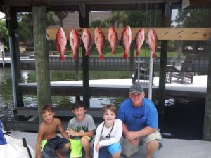 Pensacola Fishing Charters Andy Arnold